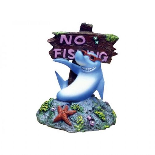 Cool Shark No Fishing Sign